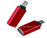 USBの3.1 CからUSB3.0メス型コネクタ