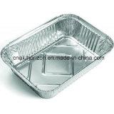 Plateaux de portion de papier d'aluminium de restaurant