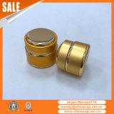 ふたが付いている卸し売り釘の使用の金アルミニウムクリーム色の瓶