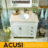 Muebles de baño del gabinete de cuarto de baño de la vanidad del cuarto de baño del sólido simple del estilo de la nueva llegada (ACS1-W12)