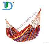 간편 의자 해먹을%s 옥외 무지개 색깔 휴대용 이상