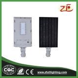 Luz de rua 20W solar Integrated clara ao ar livre esperta do diodo emissor de luz
