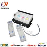 Kontinuierlicher Tinten-Zubehör-System 8+4 CISS für Mimaki und Tintenstrahl-Drucker Roland-Mutoh