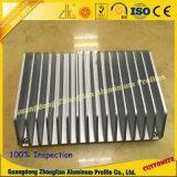 Perfis de dissipador de calor de alumínio para perfil industrial de extrusão de alumínio