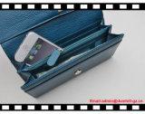 Кожаный Bifold бумажники женщин повелительницы Бумажника RFID
