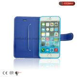 Caixa de couro do telefone do plutônio para o caso do iPhone de iPhone7/7plus