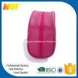 ピンクPUの革明白で装飾的な構成袋
