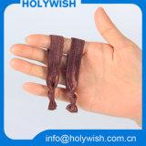 Bracelet élastique personnalisé personnalisé Bande de cheveux colorée pour Lady