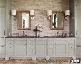 Gabinete de armazenamento de madeira contínuo do banheiro do estilo do abanador em China