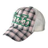 黒およびYelloowのトラック運転手の帽子(JRT077)
