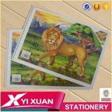 Quaderno da disegno su ordinazione poco costoso dei bambini del libro di coloritura della cancelleria del rifornimento di banco