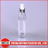 [هوتسل] [250مل] زجاجة شفّافة مستديرة بلاستيكيّة ([ز01-ب092])
