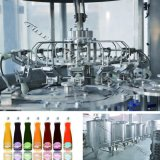 لب عصير محبوبة زجاجة يشطف يملأ يغطّي آلة