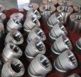 Coude à haute pression d'acier inoxydable avec le plot soudé