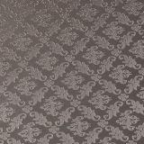 Cuero impreso Rhombus de moda del PVC de la PU de la flor de Upholastery para decorativo