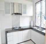 프랑스 작풍 PVC 백색 주문 부엌 Cabinetry