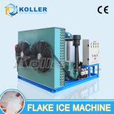 Koller 3tons par machine de glace d'éclaille de jour avec le compresseur de l'Allemagne Bitzer