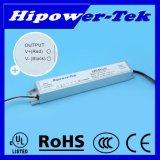 UL aufgeführtes 47W, 1050mA, 45V konstanter Fahrer des Bargeld-LED mit verdunkelndem 0-10V
