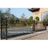 Haohan подгоняло шикарную селитебную промышленную декоративную гальванизированную стальную загородку 85