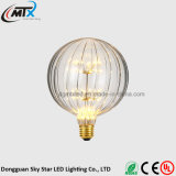 Ampoule créatrice de la lumière jaune G125 3W du vendeur chaud DEL d'exportation
