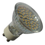 48PCS 3528SMD 2.5-2.7watt 230V/50hzlled Mrg Birne GU10 (LED-MRG-004)