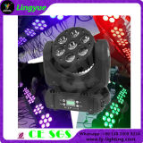 Heller 7X10W RGBW 4in1 LED beweglicher HauptSharpy Träger der Disco-
