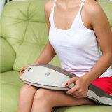 Rouleau-masseur à piles blanc argenté de corps