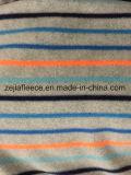 Graues Gemisch-Vlies-Gewebe mit Streifen-Druck