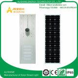 100W 옥외 태양 제품 운동 측정기 램프 LED 가로등