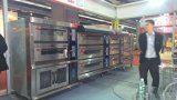 3-Deck 9-Tray luxuriöser Gas-Ofen