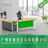 Altos muebles modernos eficientes del vector de la oficina ejecutiva con el pie de acero