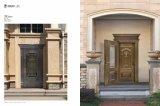 La double porte inégale avec le cuivre pur