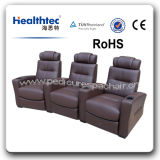 Elektronischer stützender Theater-Stuhl-Kino-Multifunktionsstuhl mit Kopfstütze und Becherhalter (T016-A)