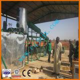 Petróleo de motor usado da limpeza do petróleo planta energy-saving ao diesel