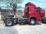 HOWO 4X2 290-420HP 구동 장치형 트랙터 헤드 트럭 또는 트레일러 헤드