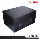 Haut-parleur du DJ de subwoofer de la salle de conférences 18inch du prix usine S218 1200W