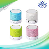 Mini Bluetooth altavoz portable para MP3 móvil con luz LED