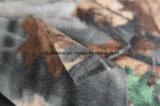 カムフラージュの森林切断の北極の羊毛ファブリック