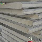 壁および屋根のための高品質によって絶縁されるカラー鋼鉄ポリウレタンサンドイッチパネル