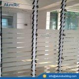 Finestra di vetro di alluminio della feritoia dell'otturatore