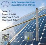tiefe Vertiefung 3ssc3.3/106-D72/1100 Solar-Gleichstrom-Pumpen-System für Bewässerung