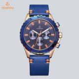 昇進のスポーツのステンレス鋼の方法Men´ Sの水晶腕時計のクロノグラフの腕時計72778