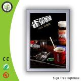 Плакат фотоего рамки СИД алюминия щелчковый рекламирует светлую коробку