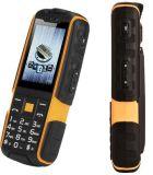 Originele Ruwe Telefoon Nr 1 A9 met GSM SIM 2g 4800mAh van de Schokbestendige 2.4 Duim van het Flitslicht de Stofdichte Dubbele Oranje Kleur van de Bank van de Macht