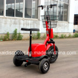 motorino Handicapped delle tre rotelle 500W del motorino elettrico di mobilità con Ce