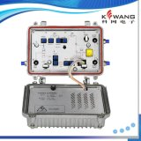 Amplificador bidirecional ao ar livre de CATV