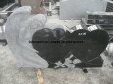 Het Amerikaanse Stijl Gesneden Monument & de Grafsteen van het Graniet van het Ontwerp van de Engel