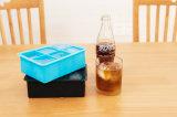 Le desserrage facile flexible BPA 100% approuvé par le FDA empilable libèrent de grands plateaux de glaçon de silicones