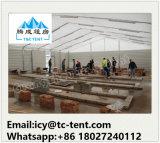 Estructura de metal estructura de tienda de almacenes grandes de almacenamiento para el almacenamiento industrial