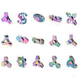 De uitstekende kwaliteit friemelt Stuk speelgoed de Multi Kleurrijke Regenboog de Spinner van de Hand van de Spinner friemelt